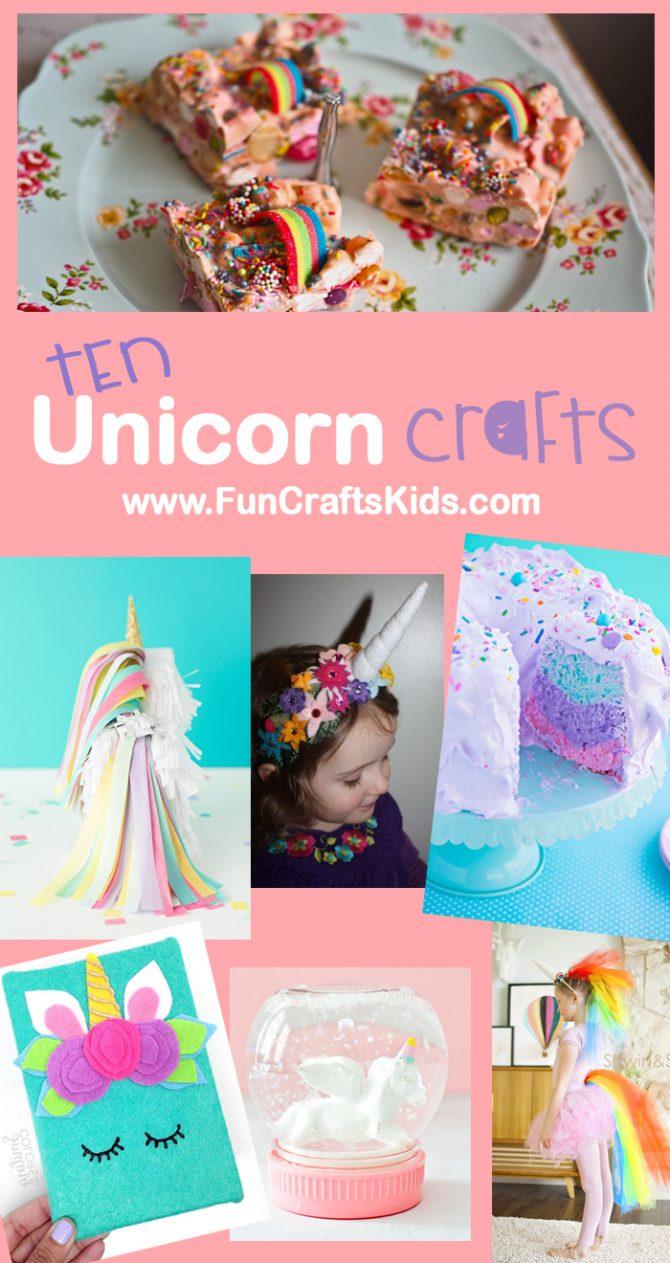 10 wonderful unicorn DIY crafts