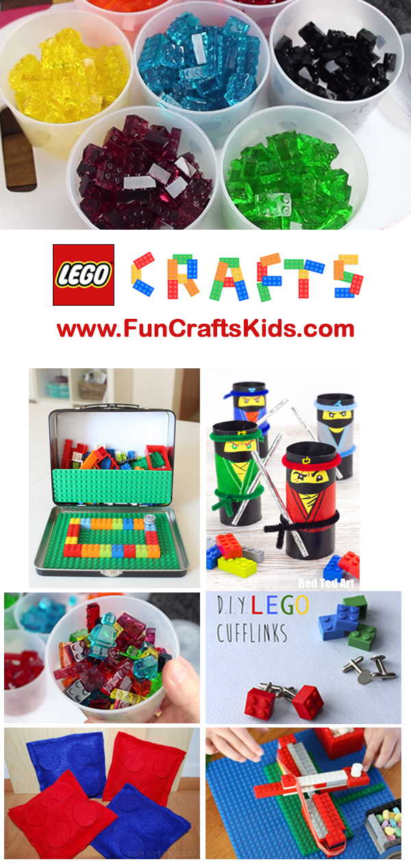 Lego Crafts – 10 brilliant ideas for you to do and make