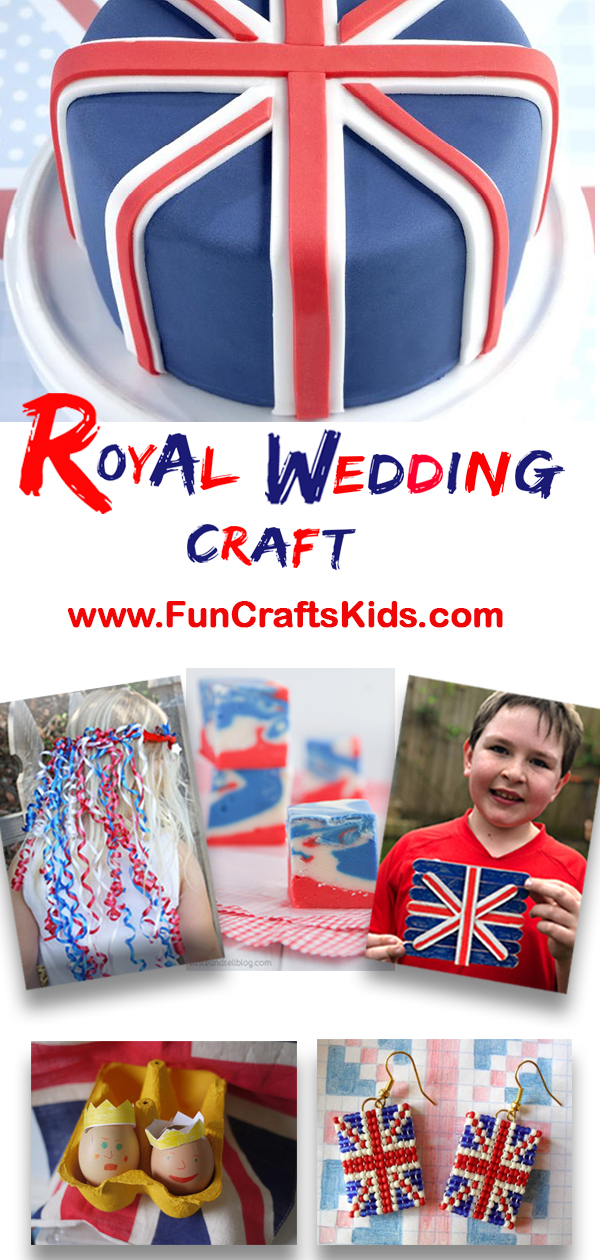 10 (Royal) wedding crafts