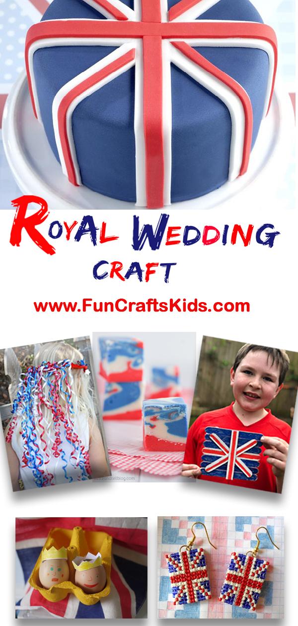10 (Royal) wedding crafts