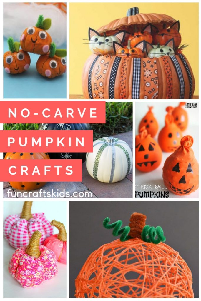 11 No-carve pumpkin crafts