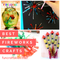 Six of the Best Fireworks crafts