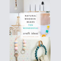 10 Wooden Bead Crafts