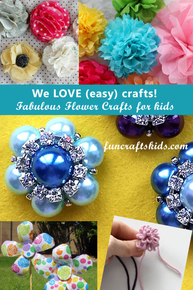 Cute flower crafts