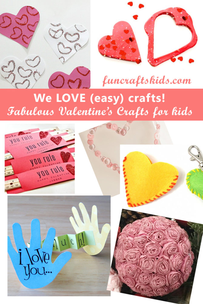 EASY Valentine's crafts – share the love with 7 easy crafts