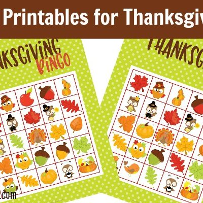 Play Thanksgiving Bingo this Holiday Season