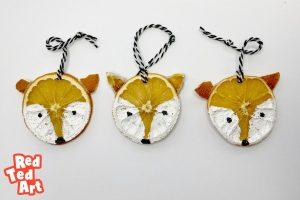 fox ornaments