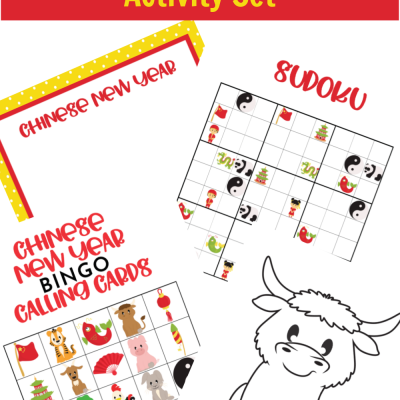 Free Printable Chinese New Year Activity Set