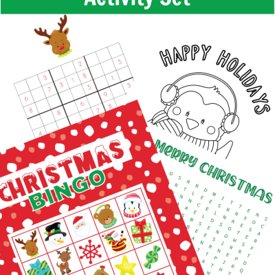 Christmas Bumper Activity Set – Free Printable