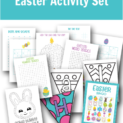 Free Printable Easter Activity Set