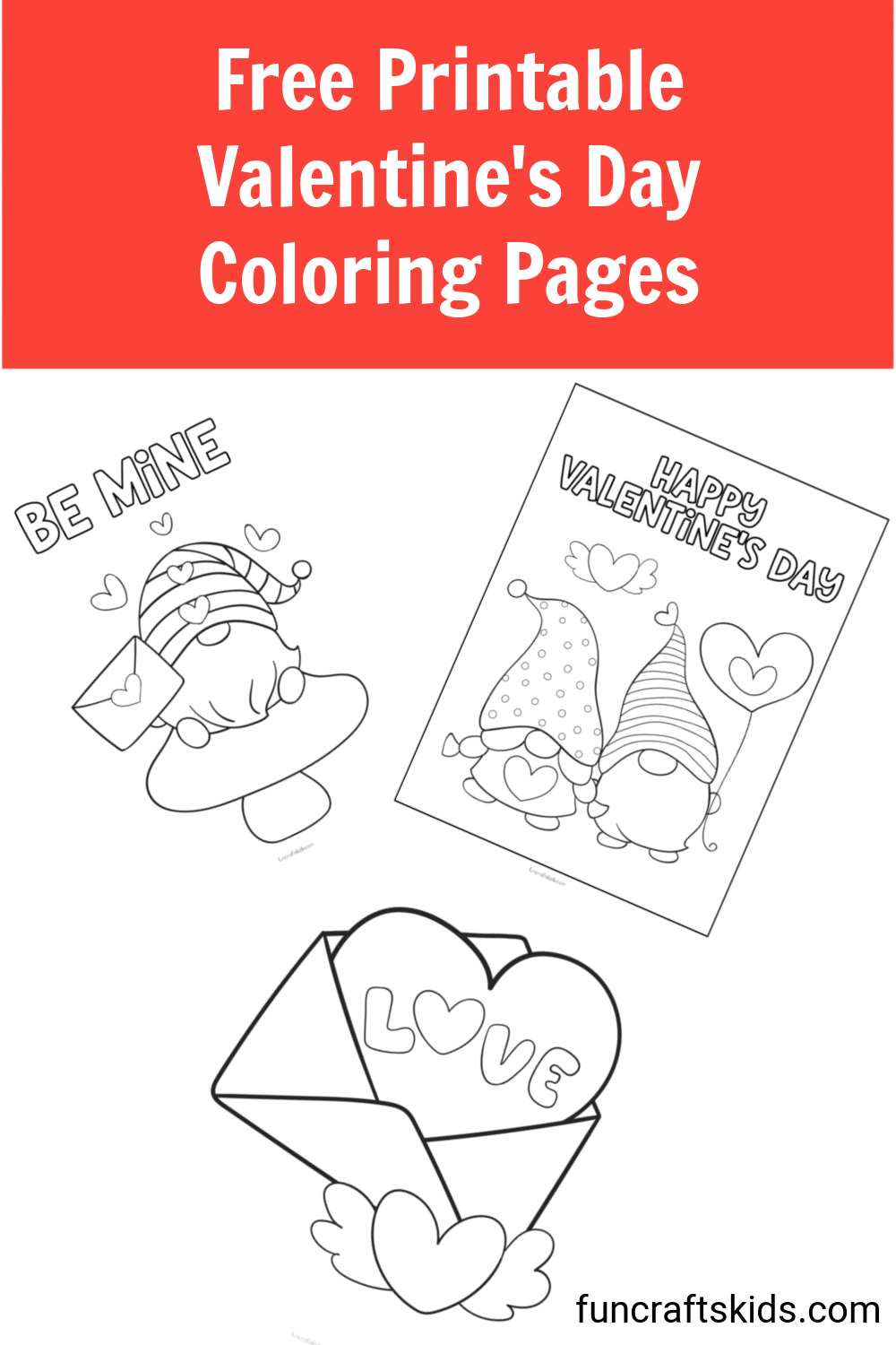 Free Printable Valentine S Day Coloring Pages Fun Crafts Kids