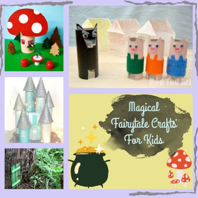 Fun Fairy Tale Crafts for Kids