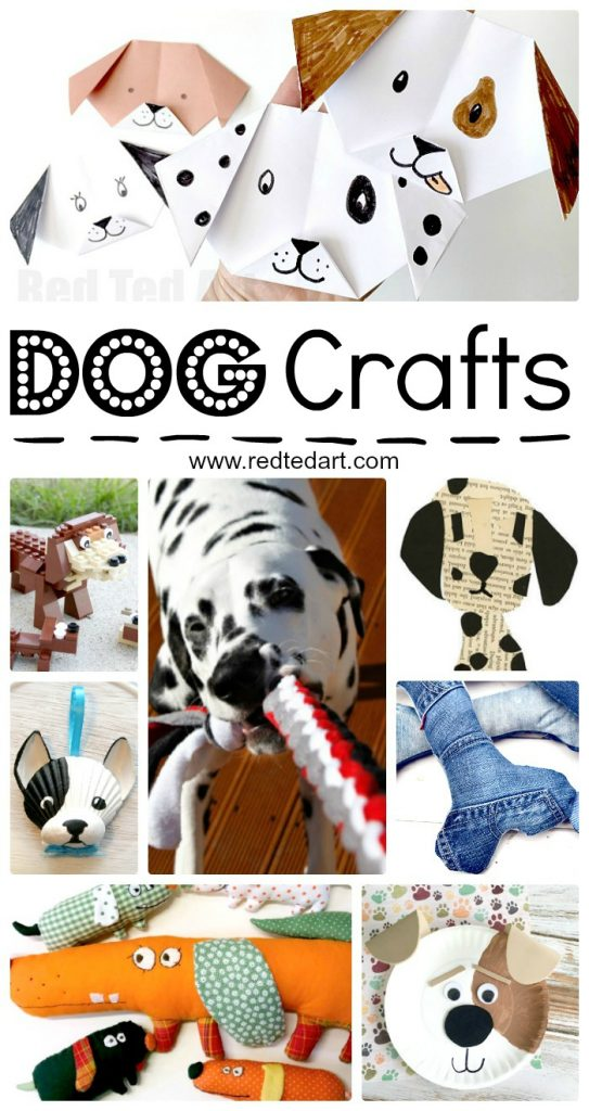 Looking for Dog Activity Ideas? Have a go at these DIY Dog Crafts