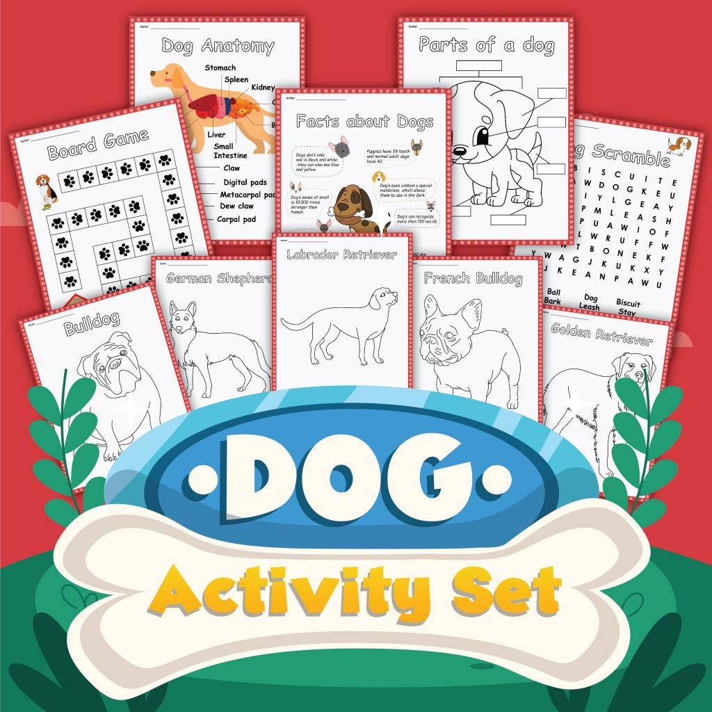 Dog Activity Set to download and complete